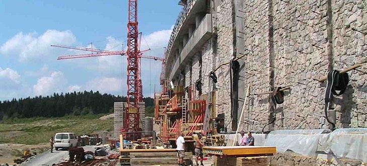 HTA Hoch und Tiefbau Annaberg - Sanierung Staumauer Muldenberg