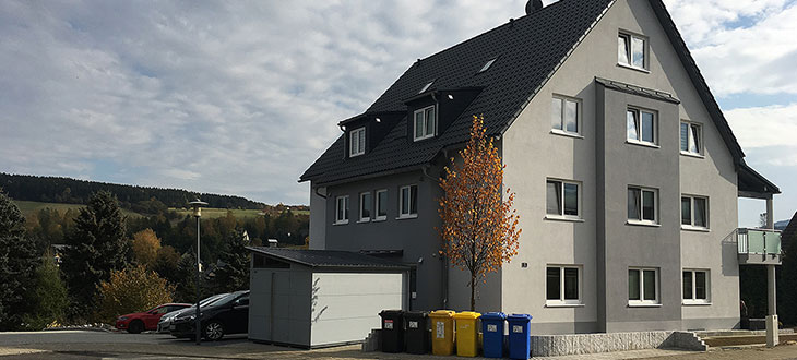 HTA Bauunternehmen Annaberg-Buchholz - Neubau Mehrfamilienhaus in Neudorf im Erzgebirge