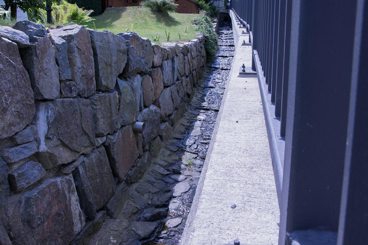 Stützmauerbau Geyersdorf