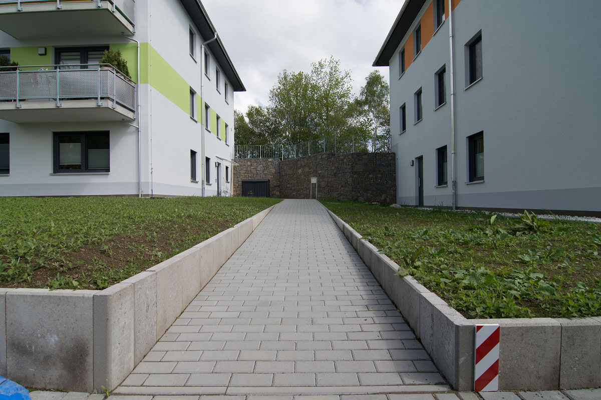 HTA - Neubau eines Mehrfamilienhauses auf der Ilmhöhe in Zschopau