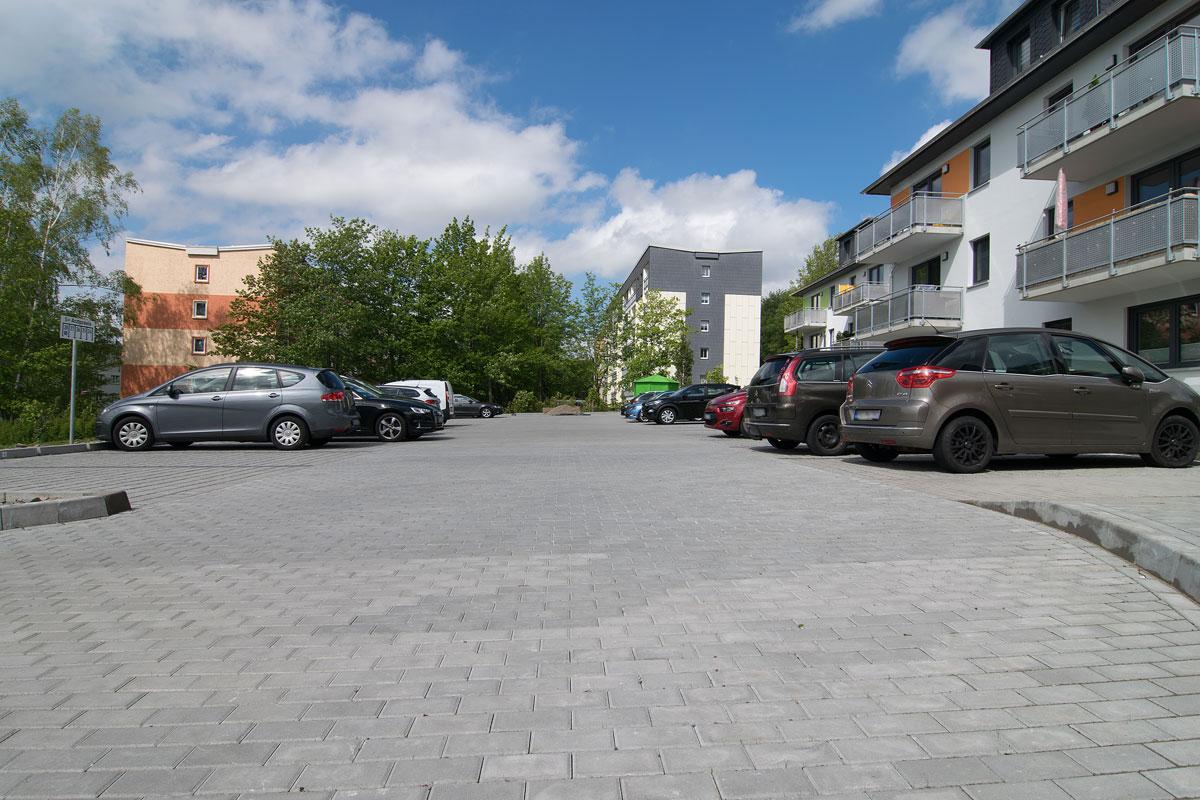 HTA - Neubau eines Parkplatzes auf der Ilmhöhe in Zschopau
